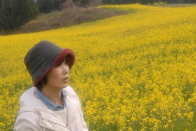 奈義の菜の花9