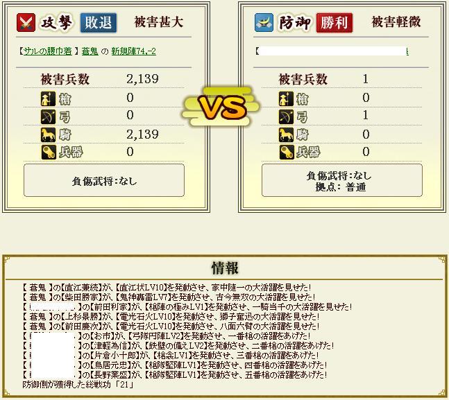 vs徳川攻