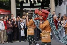 氷川神社 獅子舞 20131019A