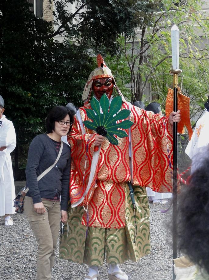 氷川神社天狗  20131019A