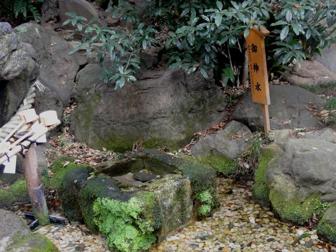 氷川神社 御神水20131019A