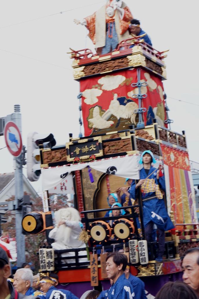 川越祭り 大手町 山車 20131019A