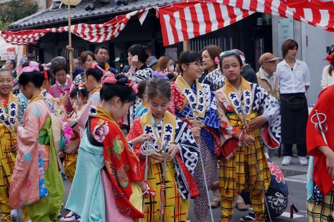 川越祭り 大手町 子供2 20131019