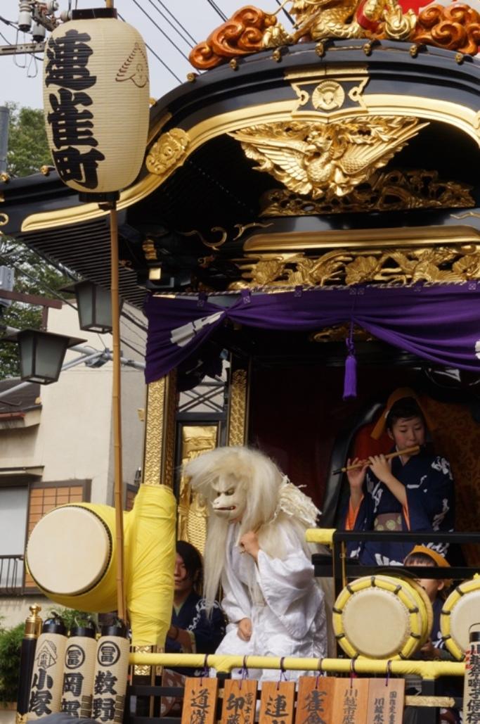 川越祭り 連雀町 山車 20131019A