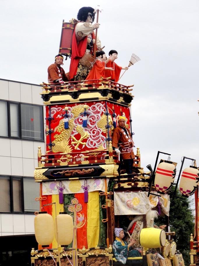 川越祭り 志多町 山車 20131019A3