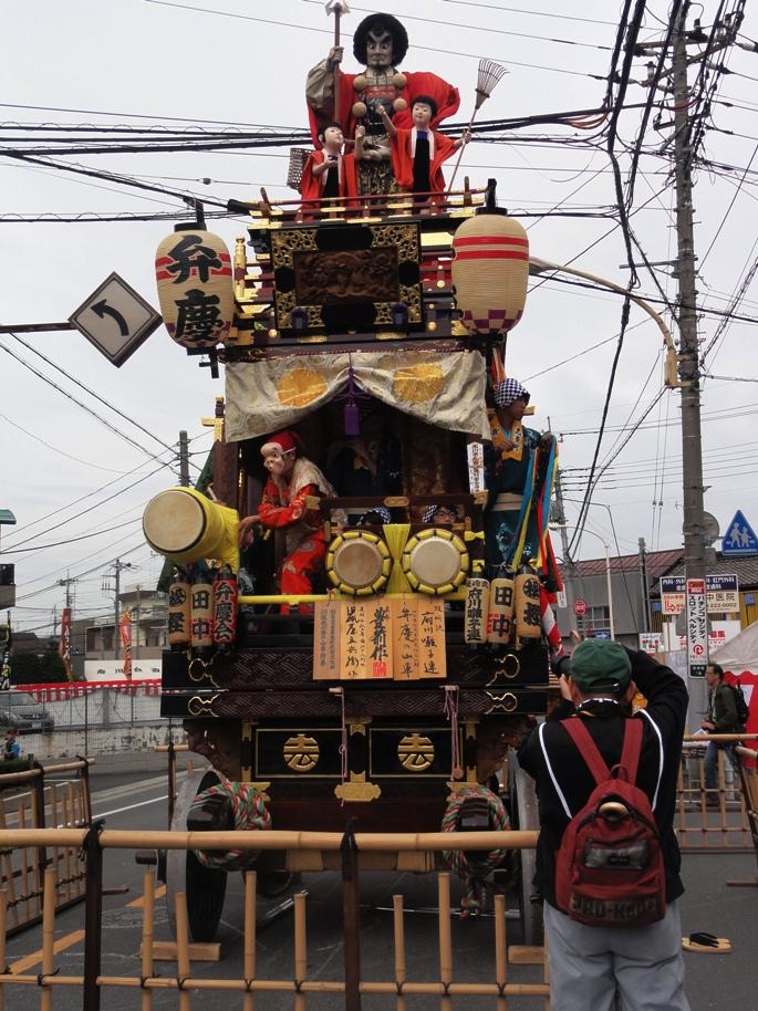 川越祭り 志多町 山車 20131019A
