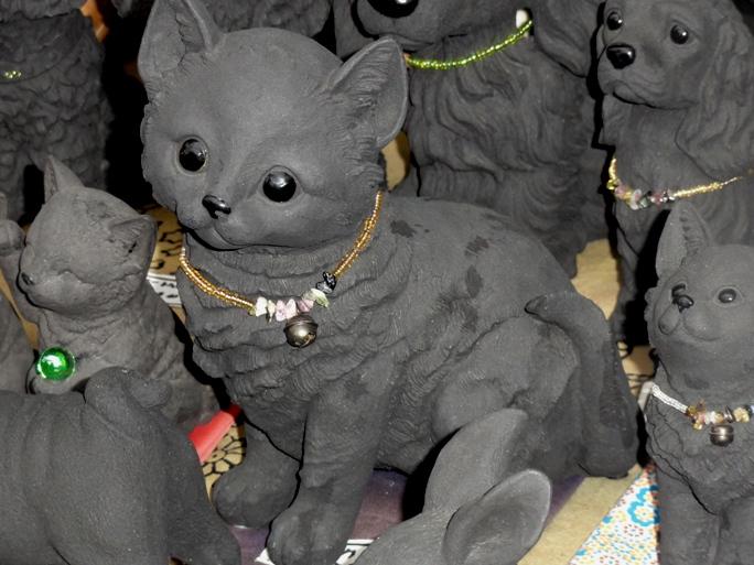 蔵の街 炭の猫20131019A2