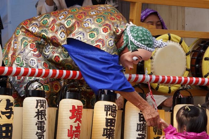 川越市役所 お囃子&幼児 20131019A