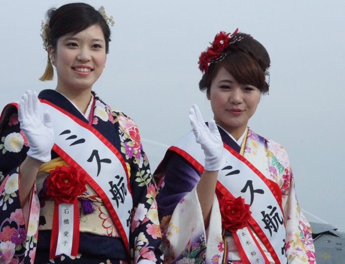 狭山基地航空際2013 ミス航空4A