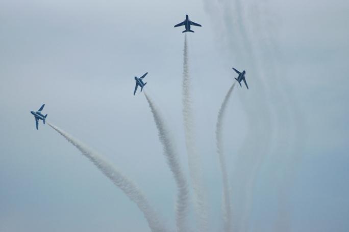 狭山基地航空祭 ブルーインパルス 2013B-4-2A