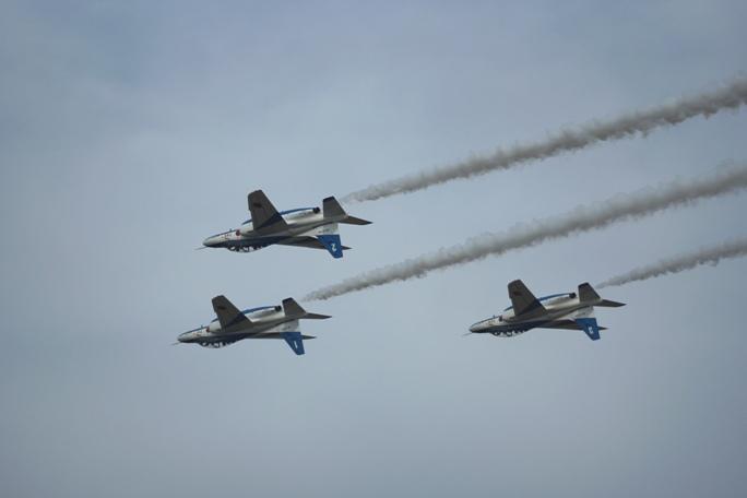 狭山基地航空祭 ブルーインパルス 2013B-3-3A
