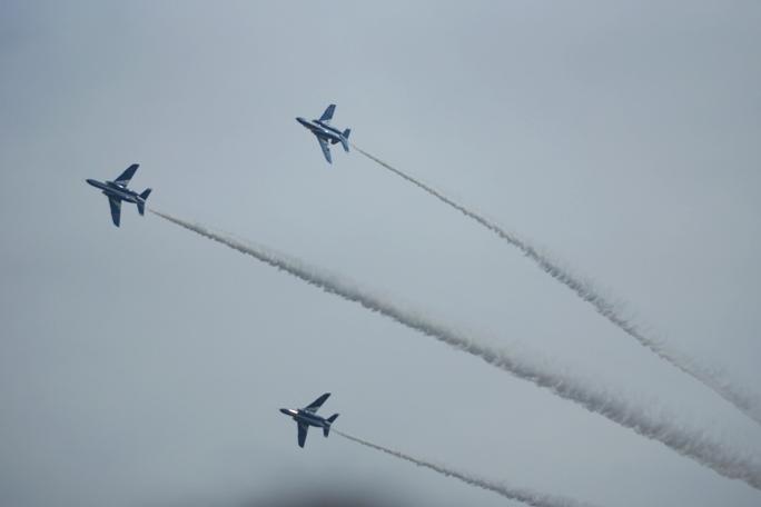 狭山基地航空祭 ブルーインパルス 2013B-3-2A