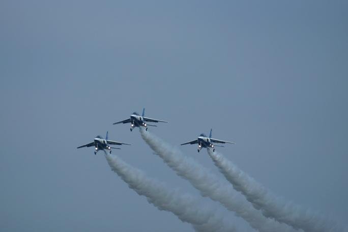 狭山基地航空祭 ブルーインパルス 2013B-3A