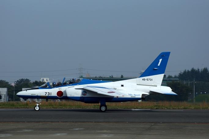 狭山基地航空祭 ブルーインパルス 2013ーB1-1A