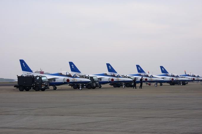 狭山基地航空祭 ブルーインパルス 2013A