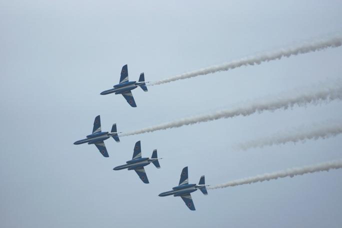 狭山基地航空祭 ブルーインパルス 2013B-4-1A