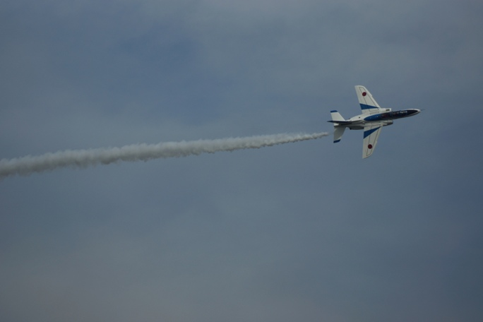 狭山基地航空祭 ブルーインパルス3A