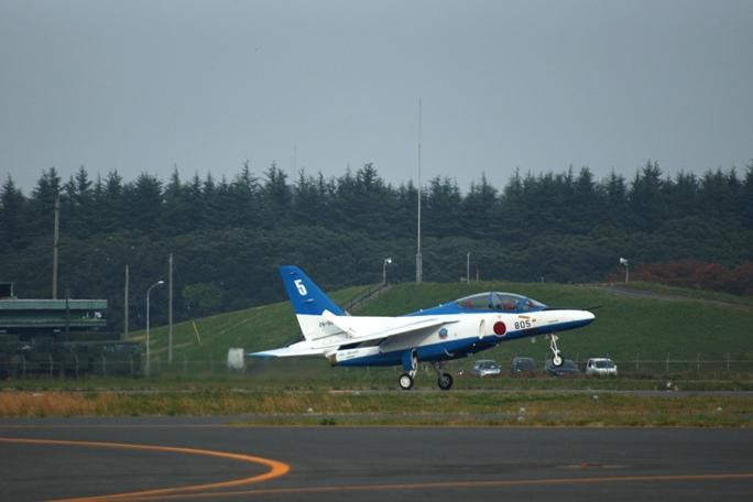 狭山基地航空祭 ブルーインパルス 2013-1A