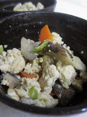 20130830炒り豆腐