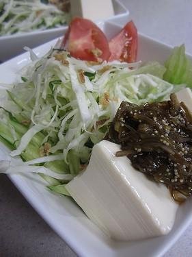 20130920豆腐サラダ