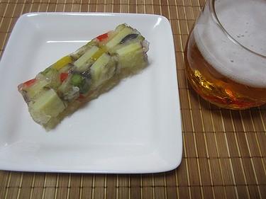 コンソメ野菜ゼリー (1)