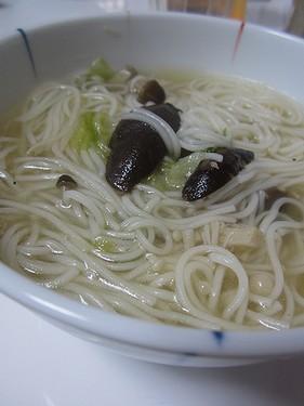 20131020きのこスープ温麺
