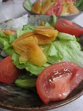 20131028 柿サラダ