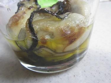 20131125 牡蠣のオイル漬け