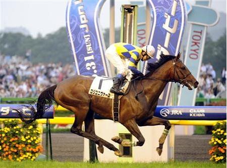 2009年のダービー馬、ロジユニヴァースが引退-優駿SSで種牡馬入り