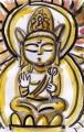 3観音菩薩坐像