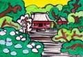 3紫陽花の咲く矢田寺