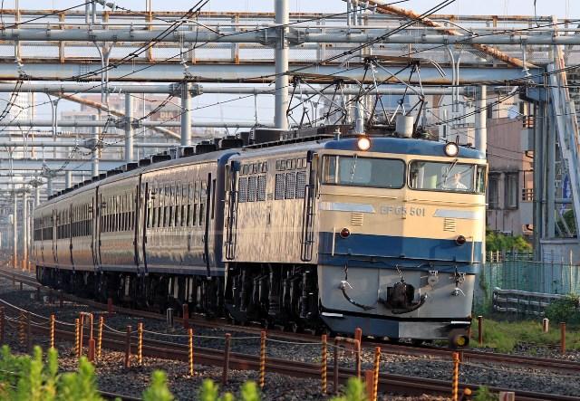 EF65-501 高崎線