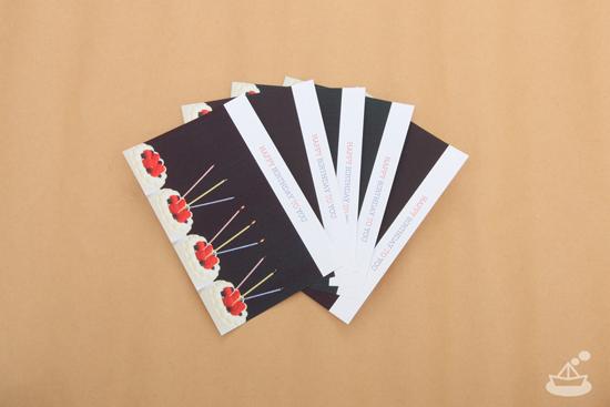 3pondsお誕生日ポストカード