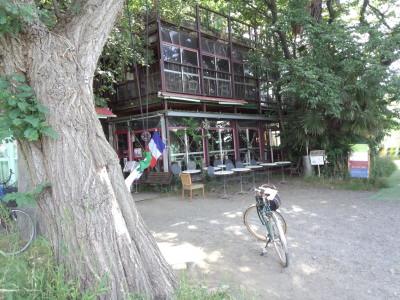 多摩川 レストラン