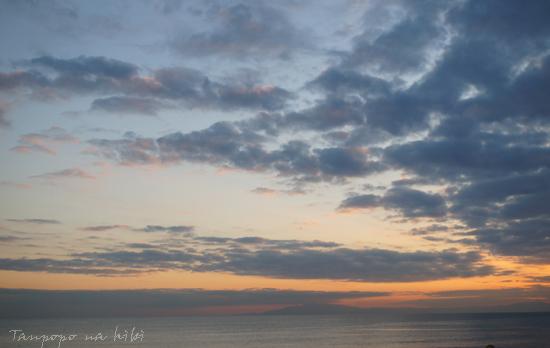 江の島夕暮れ