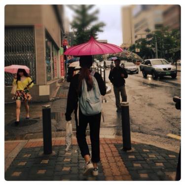 今日は冷たい雨です。