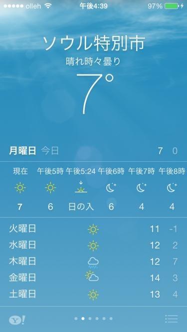 今日は最高・最低気温ともに一桁でございまする。。