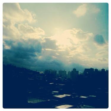 今日はとにかくお天気がころころころころ・・。