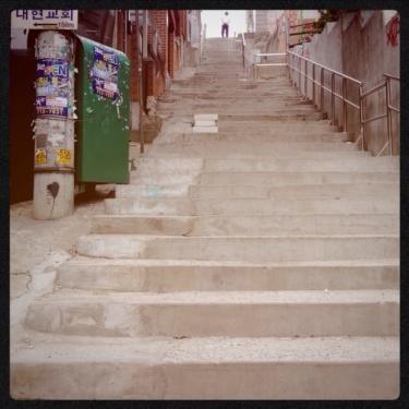 シンチョンの階段その1