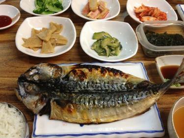 고등어 구이 (サバ焼き定食)
