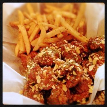チキンとポテトの黄金コンビ