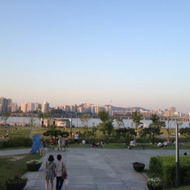 2013.6月の한강(漢江)
