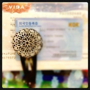 VISAと外国人登録証