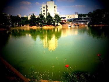夏の建国大学 湖