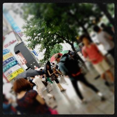 弘大駅9番出口