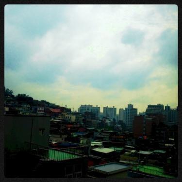 今日のソウルの空