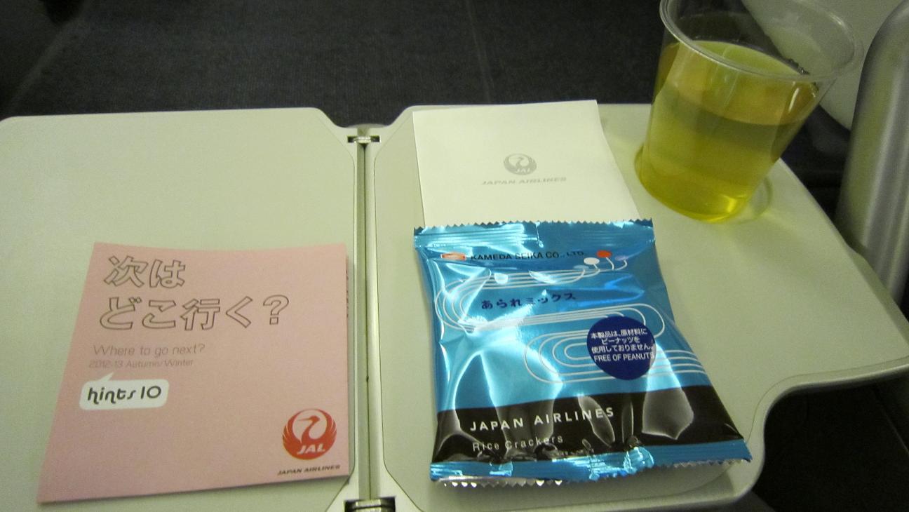 JAL食事