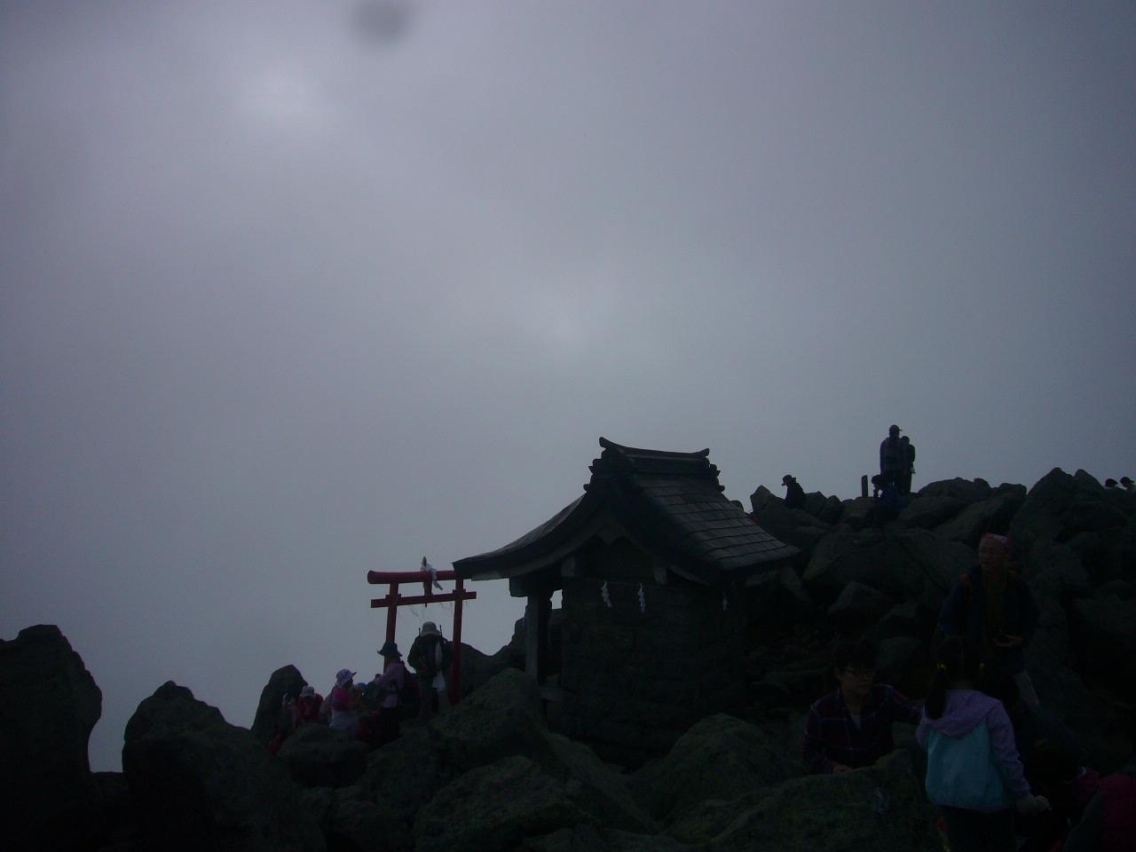 岩木山 頂上付近 H25.9.29