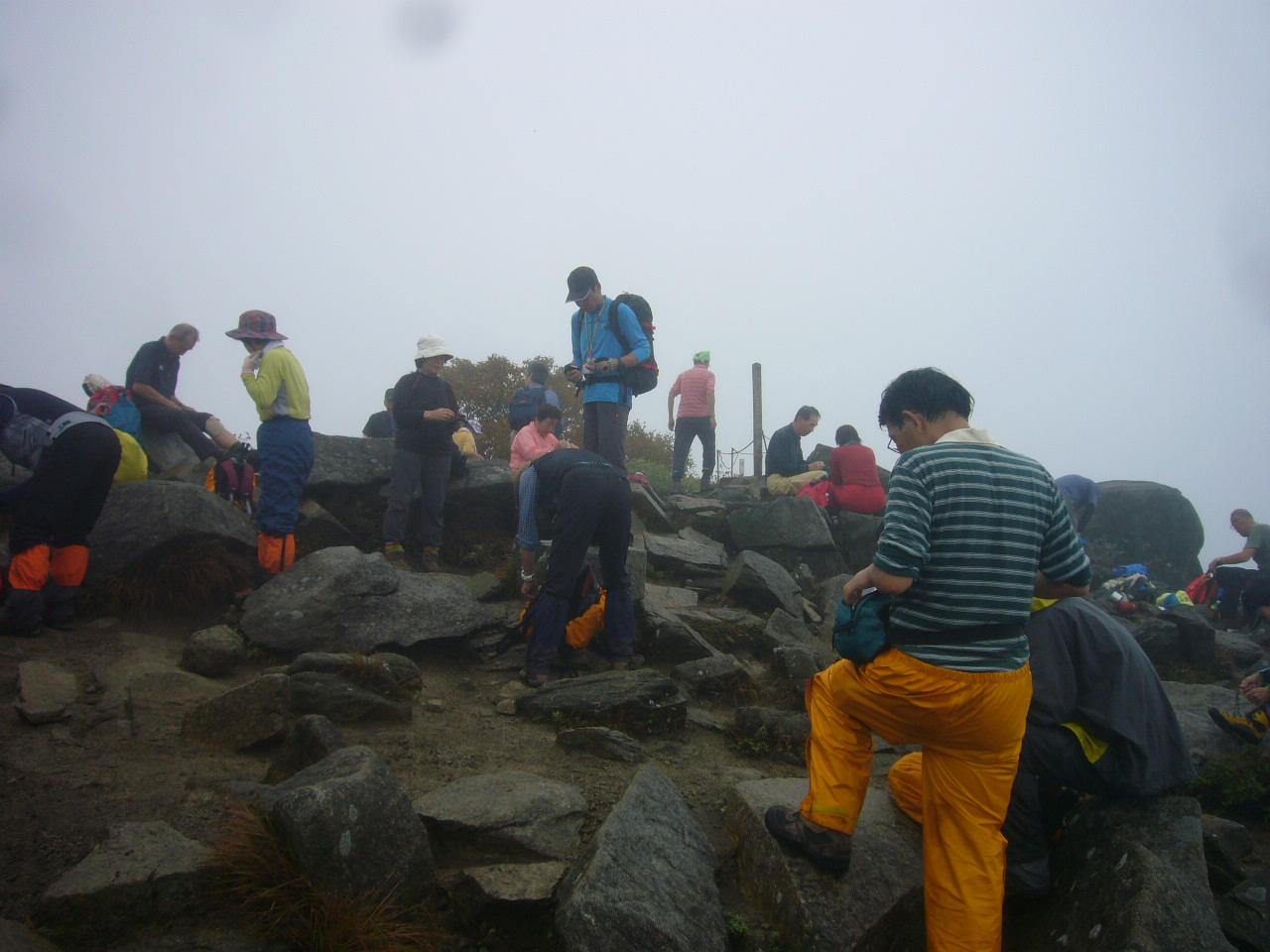 岩手県姫神山 頂上H25.9.30