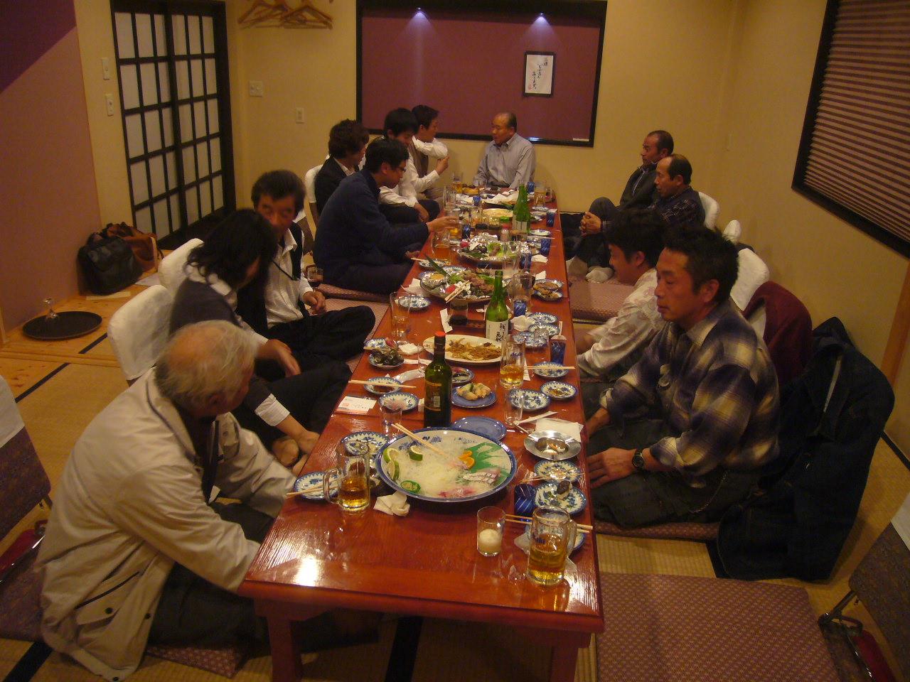 三原村歓迎会 H26.11.23